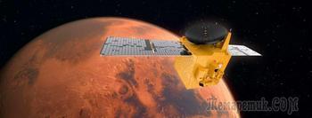 Орбитальный аппарат ОАЭ «Надежда» вышел на орбиту Марса