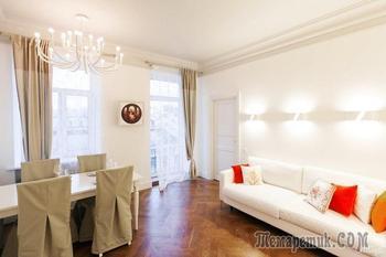 Квартира на Суворовском проспекте со светлым интерьером