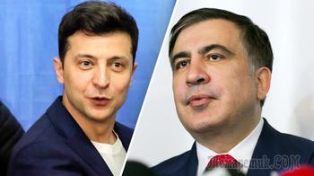 «Не заигрывай с Россией»: Саакашвили обратился к Зеленскому