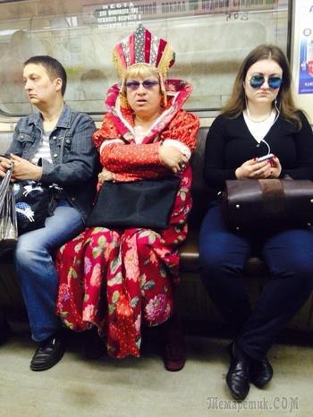 Люди, которые подняли настроение всем в вагоне метро