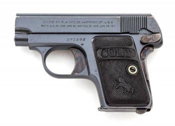 Пистолет карманный Кольт Модель 1908 года калибра