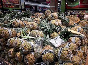 Мексика. Овощи и фрукты на столах мексиканцев