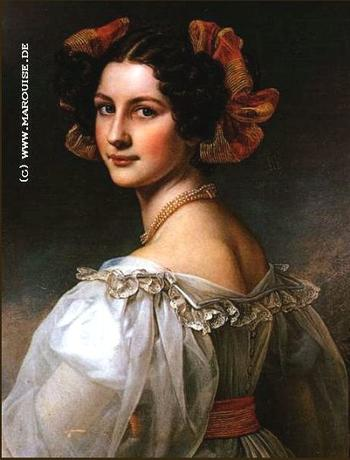 Галерея красави Людвига I Баварского. Августа Штробль