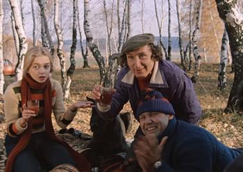Кто снялся в роли друзей Гоши в фильме «Москва слезам не верит»?