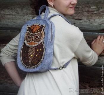 Шьем рюкзачок для молодой девушки