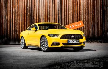 Как в семидесятых, но лучше: стоит ли покупать Ford Mustang VI за 2,5 миллиона рублей