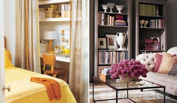 14 практичный идей, которые помогут «раздвинуть» стены в маленькой комнате