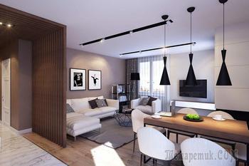 Квартира площадью 76 квадратных метров в Питере