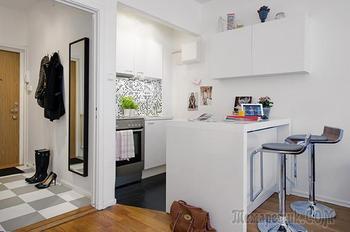 Дизайн квартиры-студии 27 кв. м.