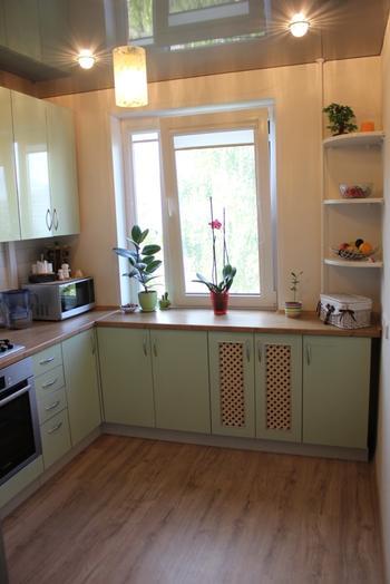 Кухня семь метров: вместить все
