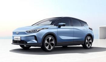 Geometry C 2021: европейские характеристики бюджетного электромобиля из Поднебесной