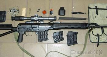 Карабин Тигр под патрон 7,62х54R — гражданская версия винтовки Драгунова