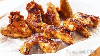 Восторг! Какие классные куриные крылышки в медово-соевом соусе | Улетают за минуту!