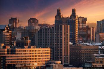 Зимний Новосибирск — 2021