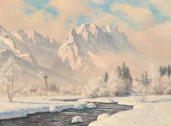 Горные пейзажи немецкого художника Эрвина Кеттермана, за картинами которого гоняются ценители искусства