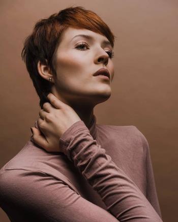 Модная челка на короткие волосы: найдите свой идеальный образ