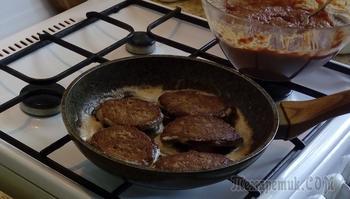 Печеночно - картофельные котлеты