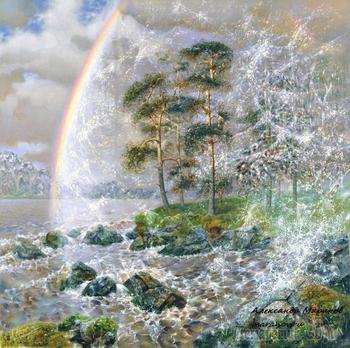 Красивый и непостижимый мир. Художник Александр Маранов