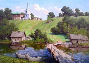 Пейзажная живопись. Художник Крупский Сергей