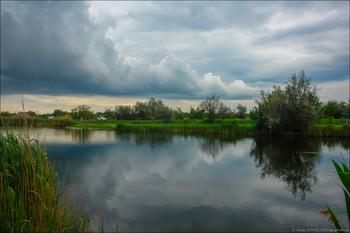 Фотозарисовка . После дождя
