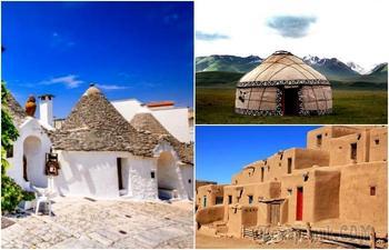 8 ярких примеров традиционных домов, которые можно найти на планете