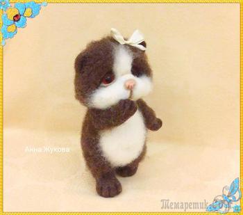 Кошечка Милашка. Мои валяшки.