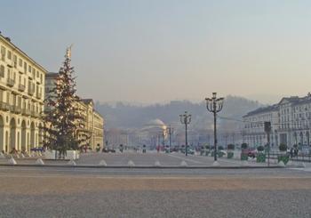 Старинный итальянский город Турин