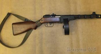 ВПО-135 — гражданский вариант легендарного пистолета-пулемета Шпагина