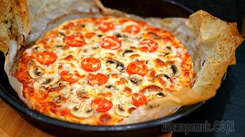 Пицца без теста за 5 минут Вашего времени! Оригинальный и очень вкусный ужин