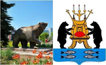 Что означают медведи на гербах разных городов, и Почему образ русского мишки далек от Винни-Пуха