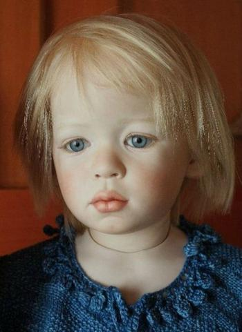 Невероятно реалистичные куклы американской мастерицы Джинн Гросс