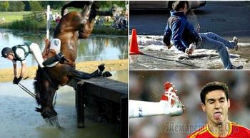 16 нелепых провалов, которые случайно попали в объектив фотокамеры