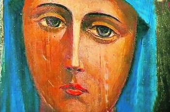 О чем расскажет плачущая икона?