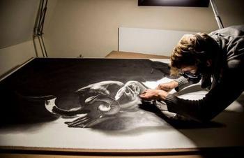 Реалистичные рисунки от художника Йоно Драй