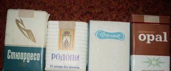 Сигареты болгарские в СССР: фото, название