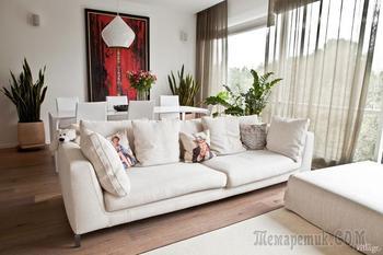 Трёхкомнатная квартира в минималистском стиле