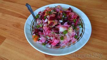 Винегрет рецепт с квашеной капустой