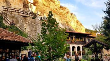 Осенняя экскурсия 2020. 05. Басарбовский скальный монастырь