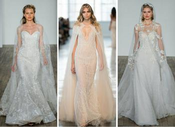 Самые модные свадебные платья 2018: 5 главных трендов свадебной моды