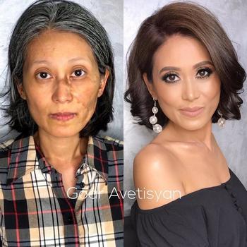 25 бесспорных доказательств, что макияж может сотворить чудо с любой женщиной