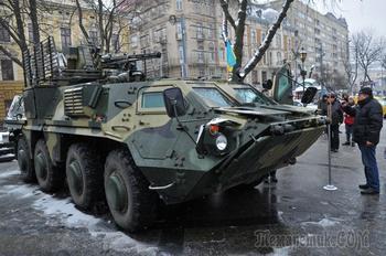 СМИ: Купленные Ираком украинские БТР не смогли тронуться с места