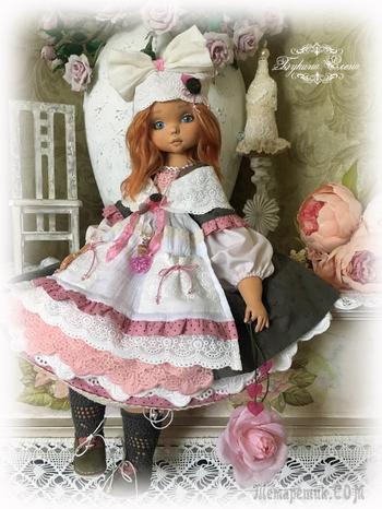 Коллекционная авторская кукла.