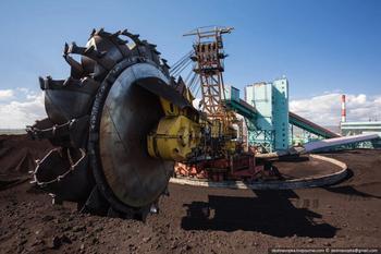 Фото экскурсия на угольную электростанцию