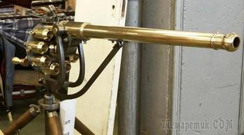 Ружье Пакла: первый пулемет в мире