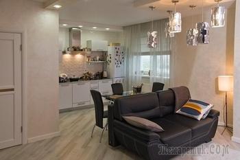 70-метровая квартира, оформленная за 20 тысяч евро