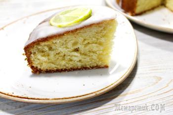Лаймовый пирог. Сочный, ароматный в меру кислый рассыпчатый пирог с лаймом