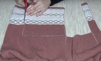 Потрясающее одеяло из старых свитеров