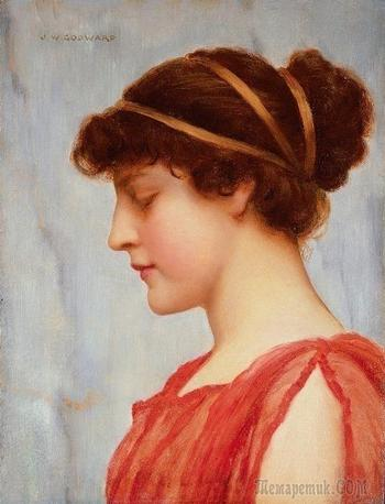 Мир ушедшей эпохи: Джон Уильям Годвард (John William Godward) - Образы прекрасных женщин