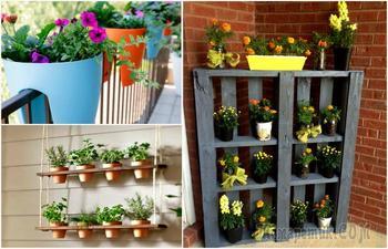 16 восхитительных примеров того, как заставить балкон зазеленеть