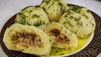 Картофельные клецки по немецки